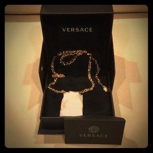 Versace embellished Medusa Head necklace 🔥🔥🔥